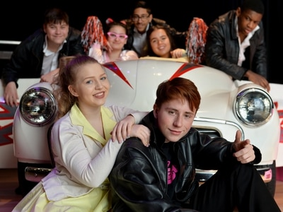 Grease is the word at Wolverhampton school