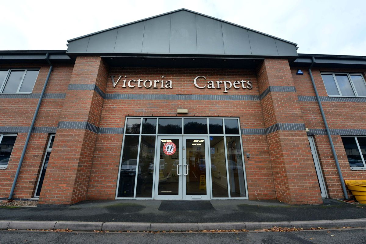 The headquarters of Victoria Carpets in Kidderminster