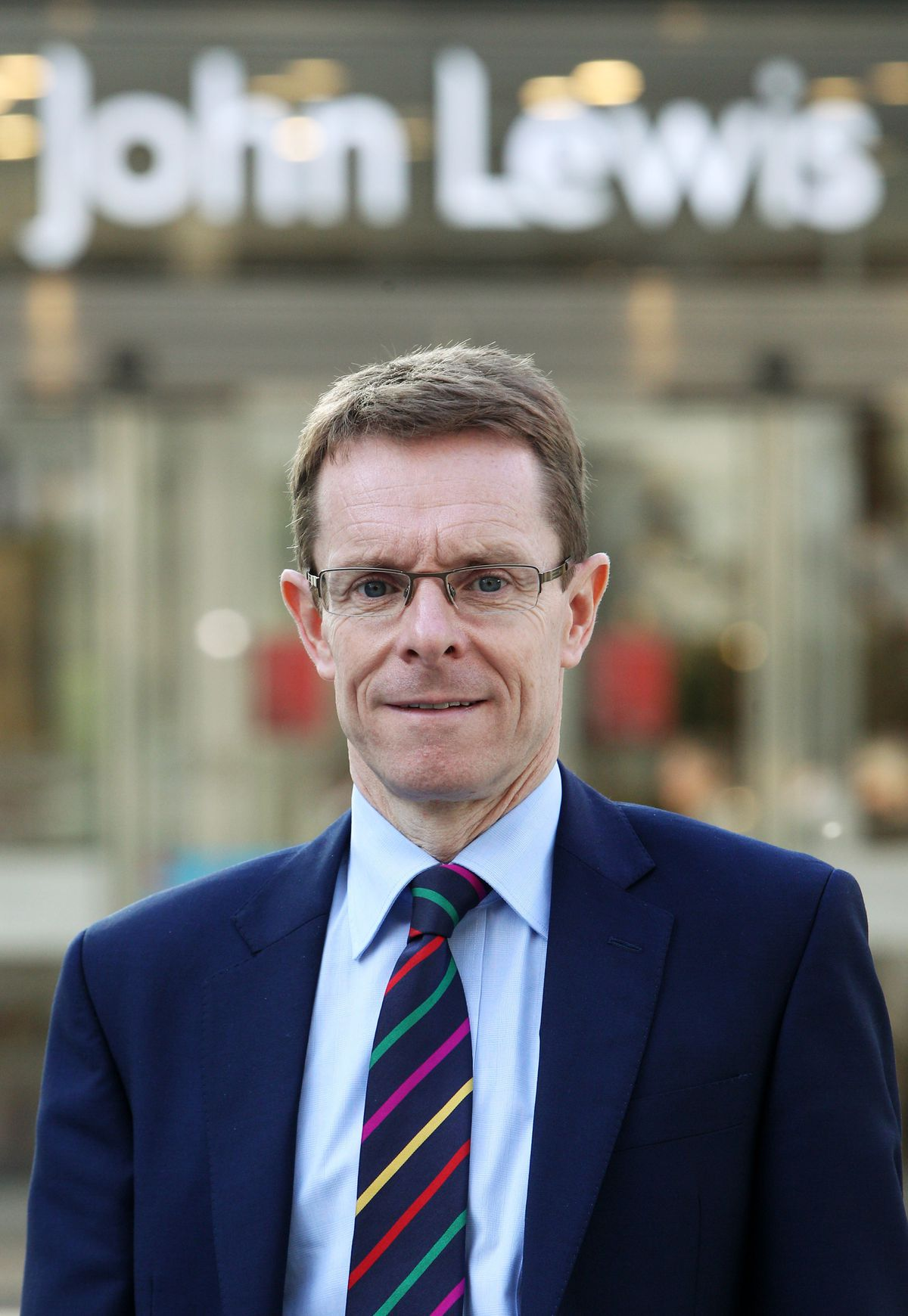 Andy Street pictured in 2011 when he was John Lewis managing director