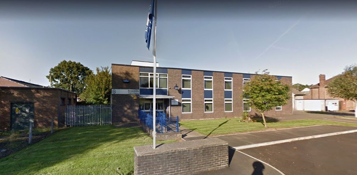 The former Brownhills Police Station building in Chester Road North, Brownhills. Photo: Google Maps
