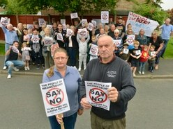 Angry campaigners mount latest Wednesbury sleeper factory protest