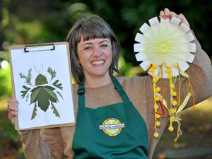 Becki Emery is looking to inspire children to learn about nature and the environment through eco-friendly arts and crafts