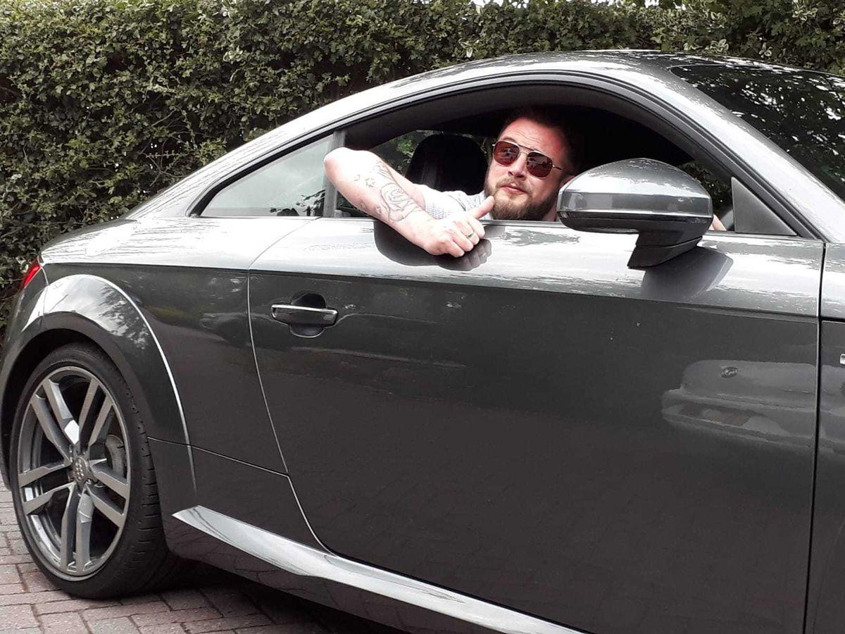 Dan Morris enjoyed taking his motor for a spin after a lockdown driving break