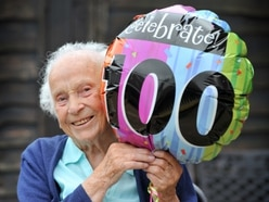 Staffordshire war nurse celebrates 100th birthday