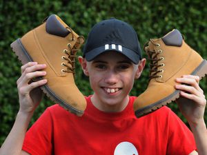 Teenage fundraiser Louis Johnson, of Wolverhampton, is hoping his planned fundraising walk for Birmingham Children's Hospital will take place later this year