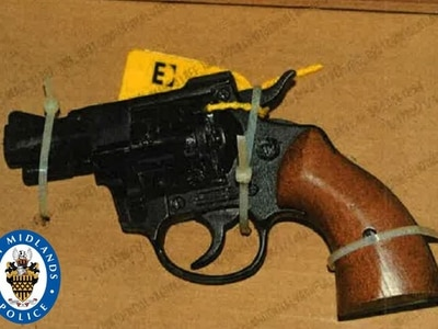 Arrest after loaded gun found in Wolverhampton