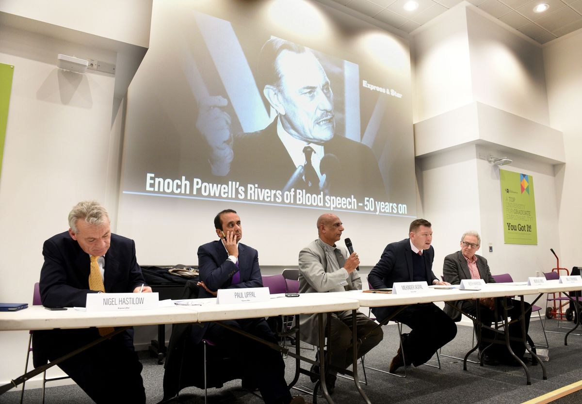 Enoch Powell's Rivers of Blood speech was debated at the Wolverhampton Literature Festival
