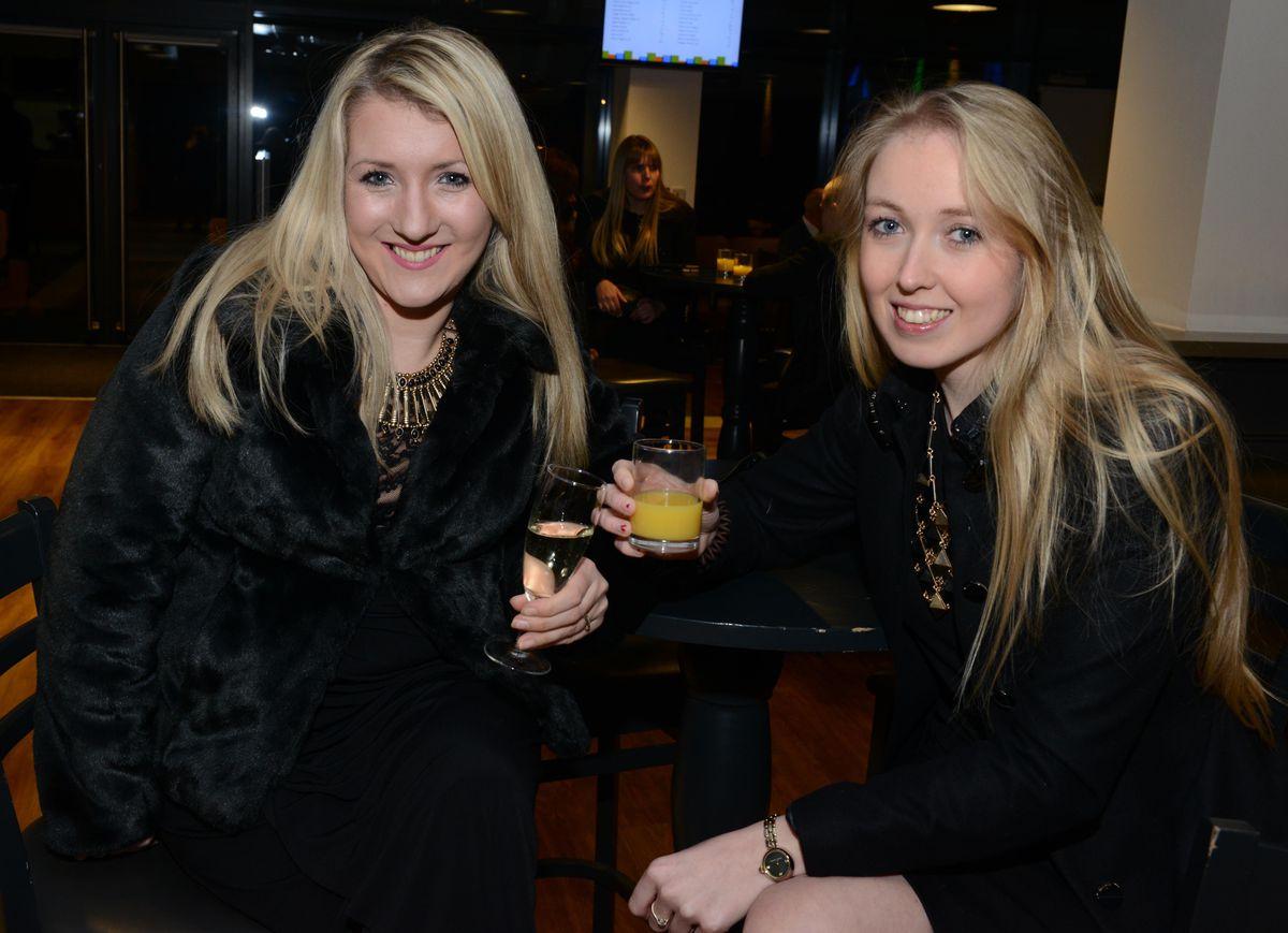 Hayley Evans and Charlotte Jones.