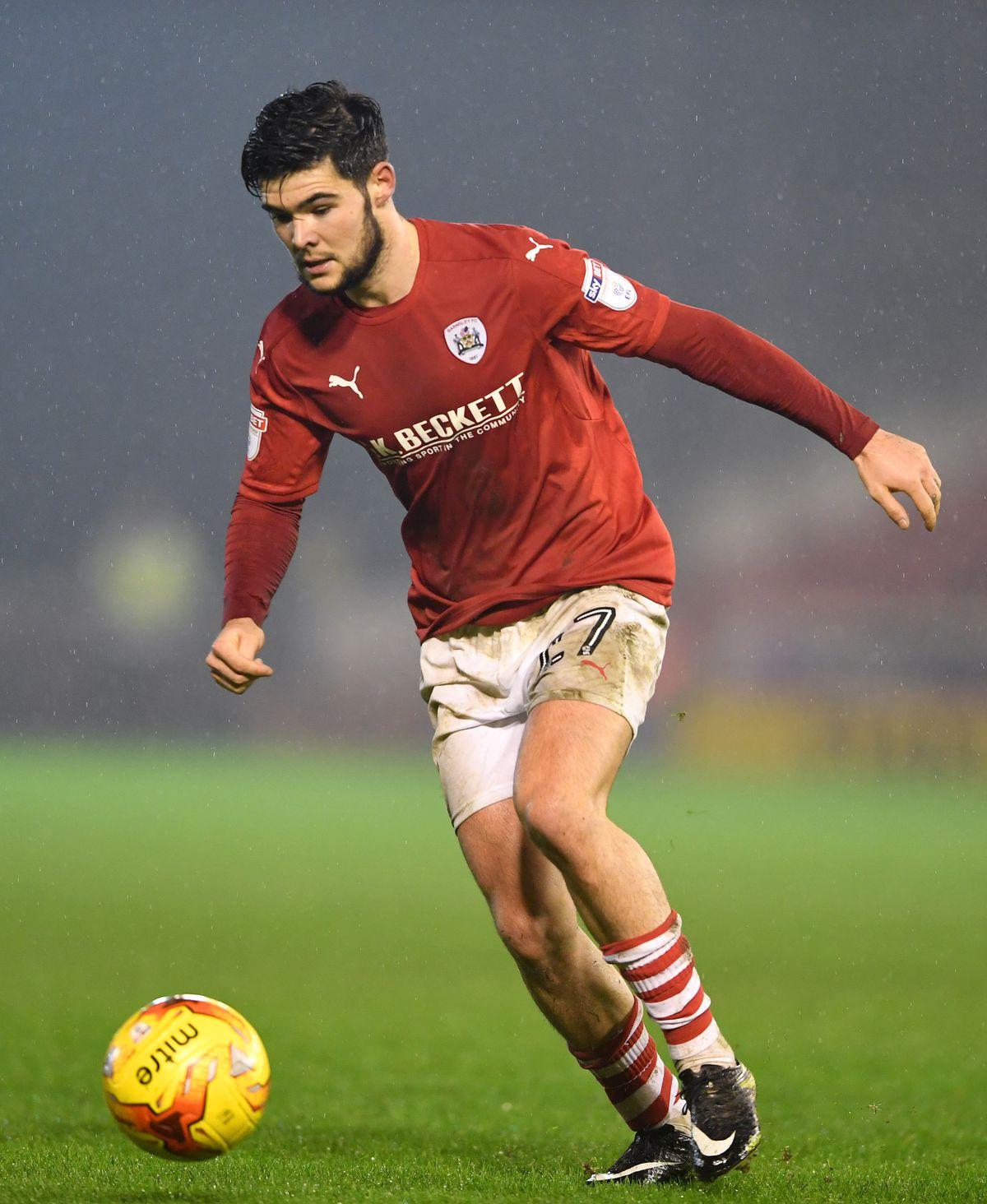 Alex Mowatt of Barnsley.