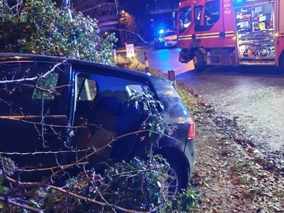 Woman left unconscious after Codsall crash