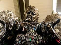 Knife Angel heading to Walsall