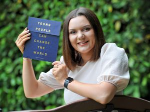 Olivia Jay Meeds, aged 18, from Wolverhampton has been recognised with the highest accolade a young person can achieve for social action or humanitarian efforts - The Diana Award