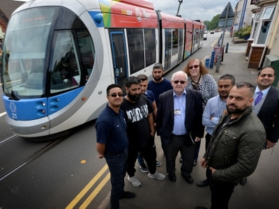 A41 Bilston Road traders' victory on Metro tram track payout