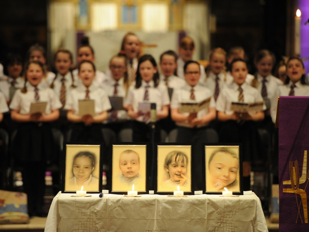 Young Siblings Remembered At Stafford House Fire Memorial Service