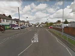Woman in hospital after bus stop crash in Bushbury