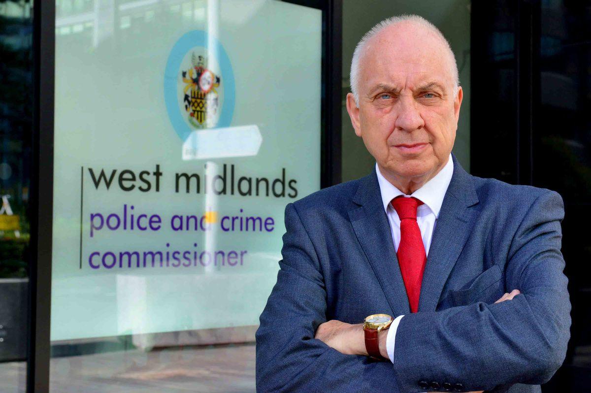 West Midlands Police and Crime Commissioner David Jamieson