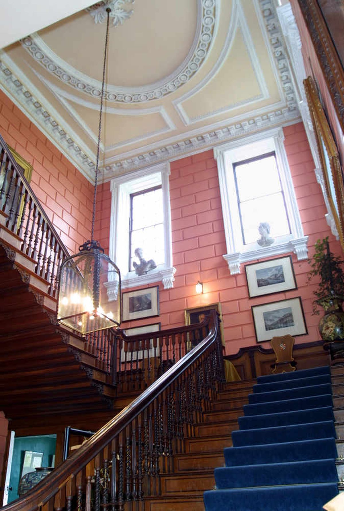 A grand staircase for a grand home