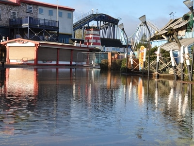 Drayton Manor Park set to reopen following Storm Dennis flooding