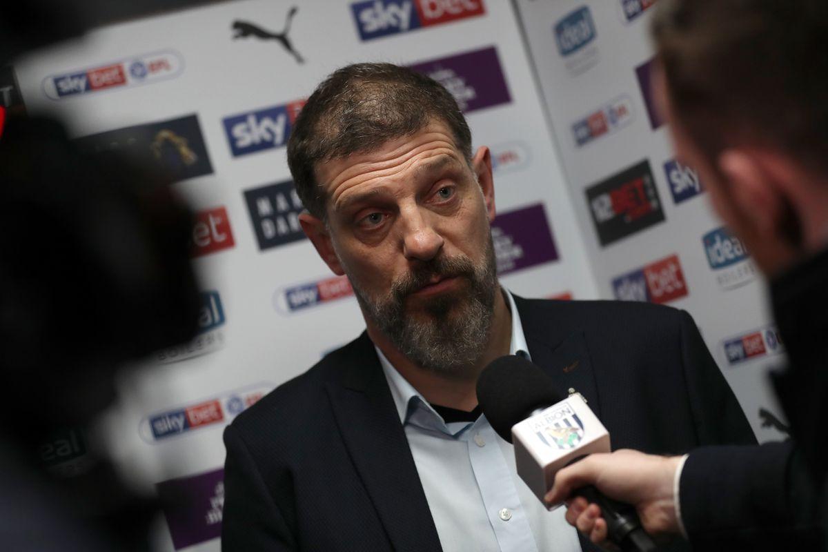 Slaven Bilic head coach / manager of West Bromwich Albion (AMA)