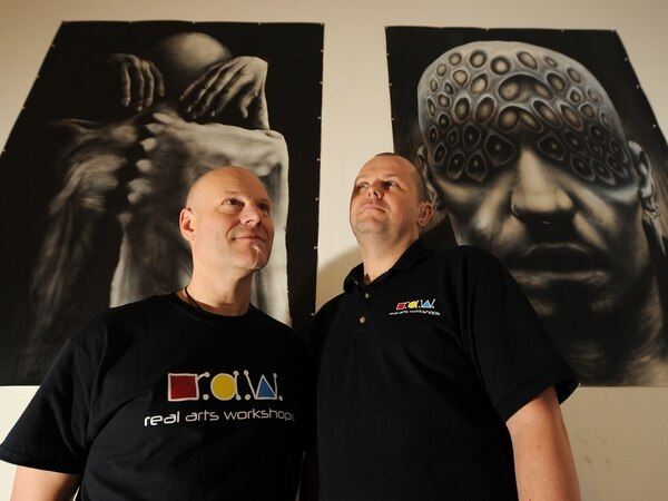 HMP Oakwood inmates use art to help prevent suicide