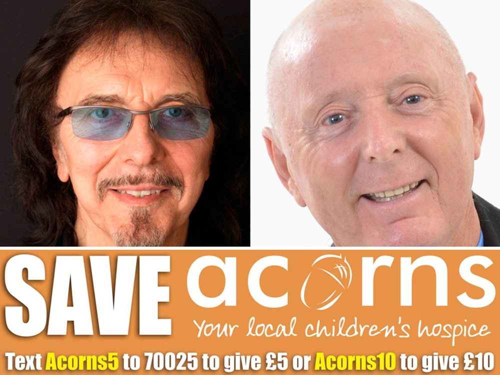 Jasper Carrott and Tony Iommi back appeal to save Acorns children's hospice