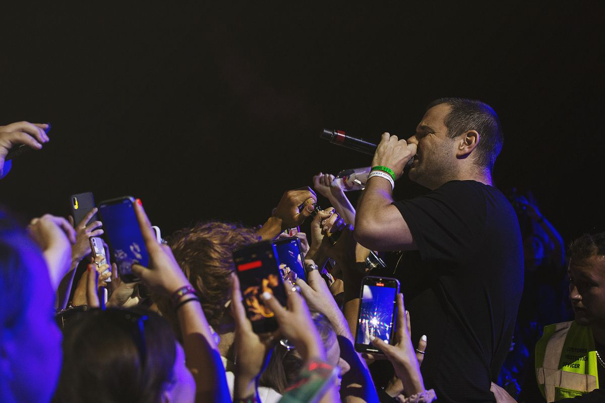 The Streets performed at the MADE Festival in Sandwell on Saturday. Photo: Paul Reynolds