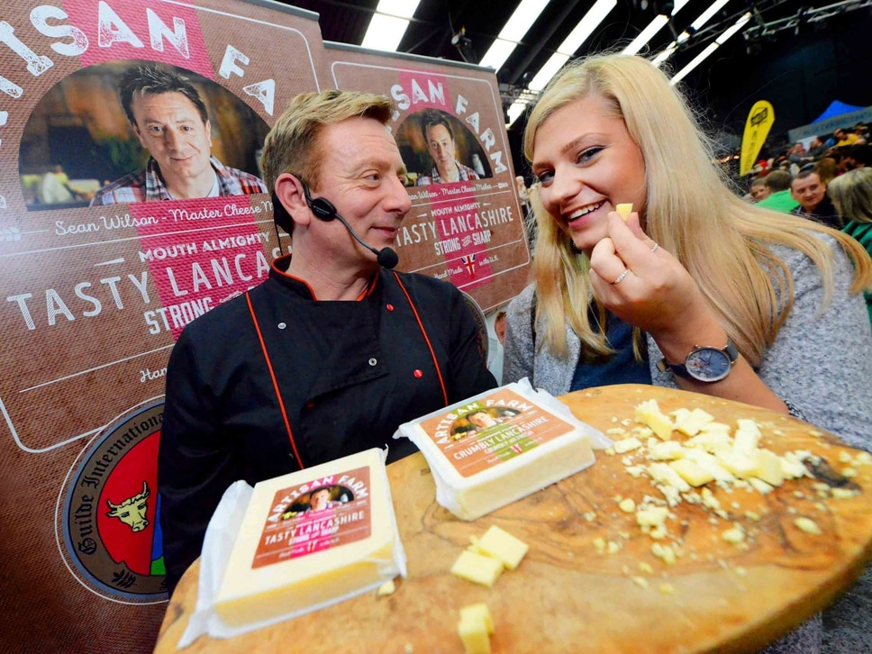 Cheese Fest UK: Corrie star Sean brings out the crowds for Wolverhampton show - PICTURES and VIDEO