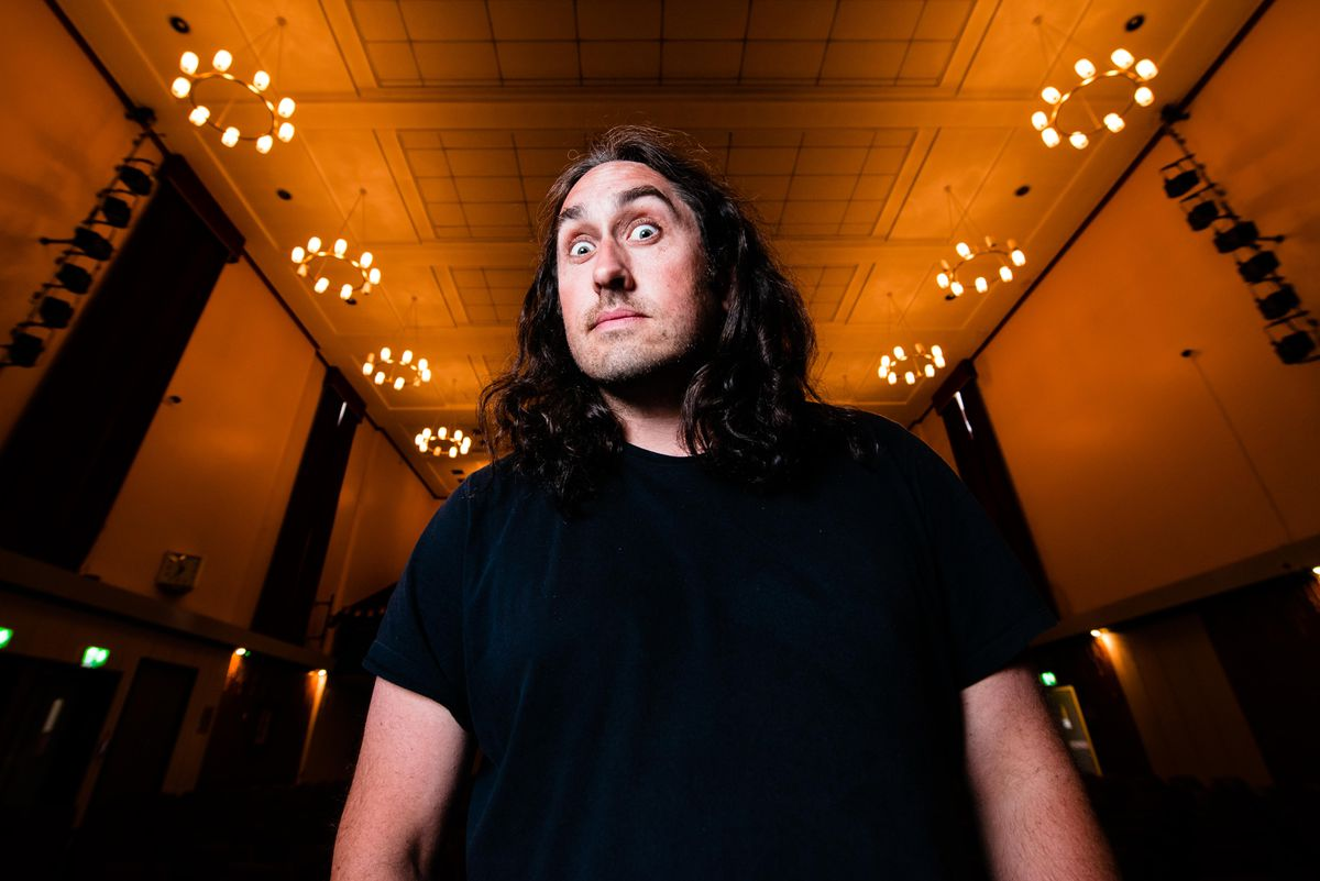 Ross Noble performed at Brierley Hill Civic Hall for the Black Country Festival