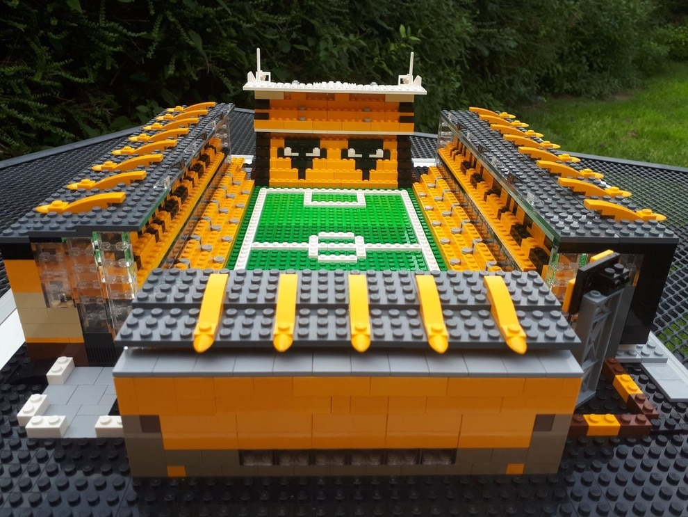 It's Molineux, but not as you know it! Lego stadium created for ...