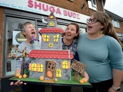 Halloween comes to town at cake shop