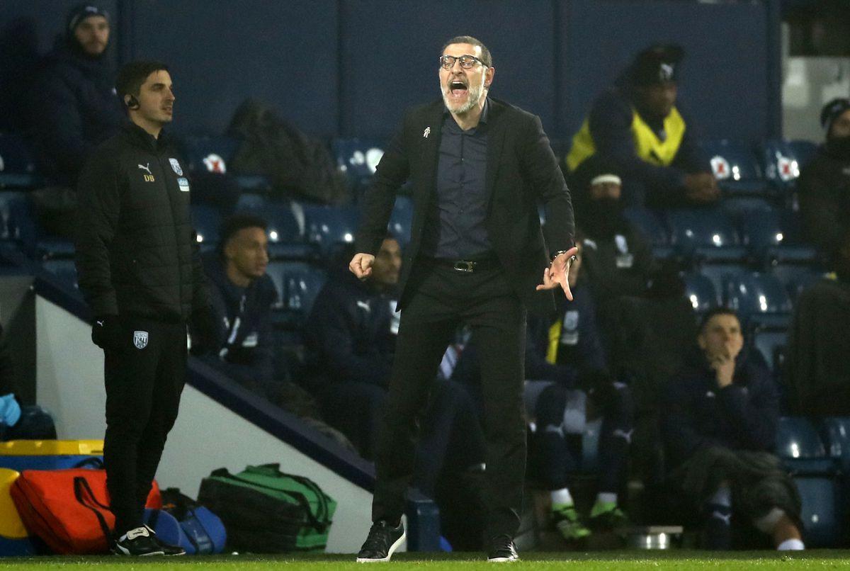 West Bromwich Albion's manager Slaven Bilic