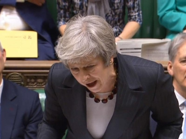 Tory MPs use PMQs to demand Theresa May renegotiates her Brexit deal