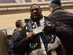 Homeless fan watches first West Brom game at The Hawthorns after ticket giveaway