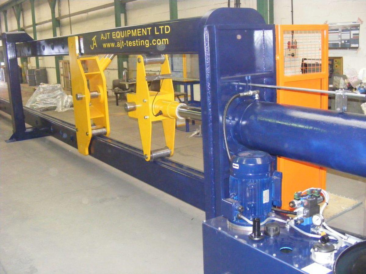 An AJT horizontal test machine