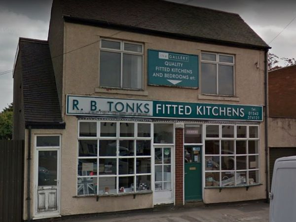 The former R B Tonks shop on Lichfield Road in Brownhills. PIC: Google
