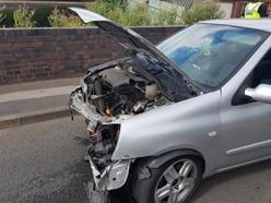 Drink-drive arrest as young boys taken to hospital after bridge crash
