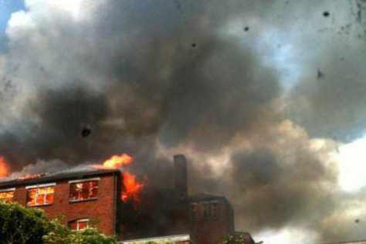 Walsall factory blaze not arson