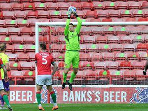 Goalkeeper Liam Roberts.