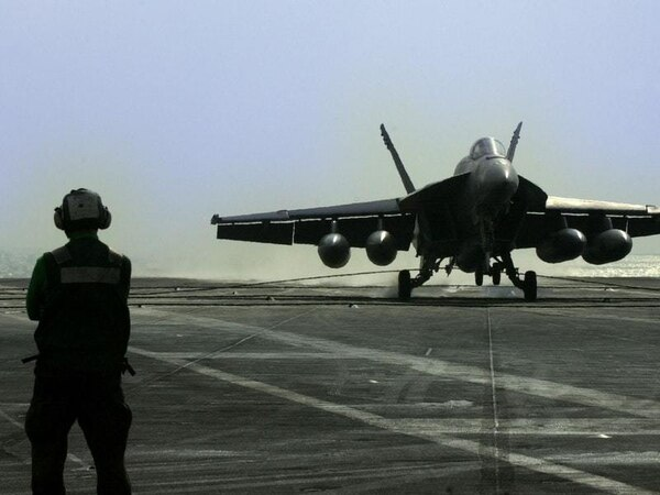 US Navy apologises for its plane's penis drawing in the sky