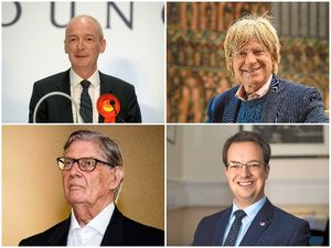 Top left to right, Pat McFadden and Michael Fabricant, joined bottom, left to right, Sir Bill Cash and Mike Wood, to speak on the Brexit financial settlement plans