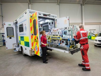 'Despicable' theft from ambulance workers on call-out