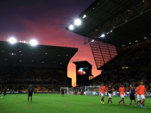 General view of Molineux.