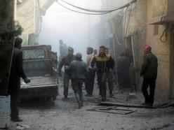 Syria air strikes continue despite UN ceasefire