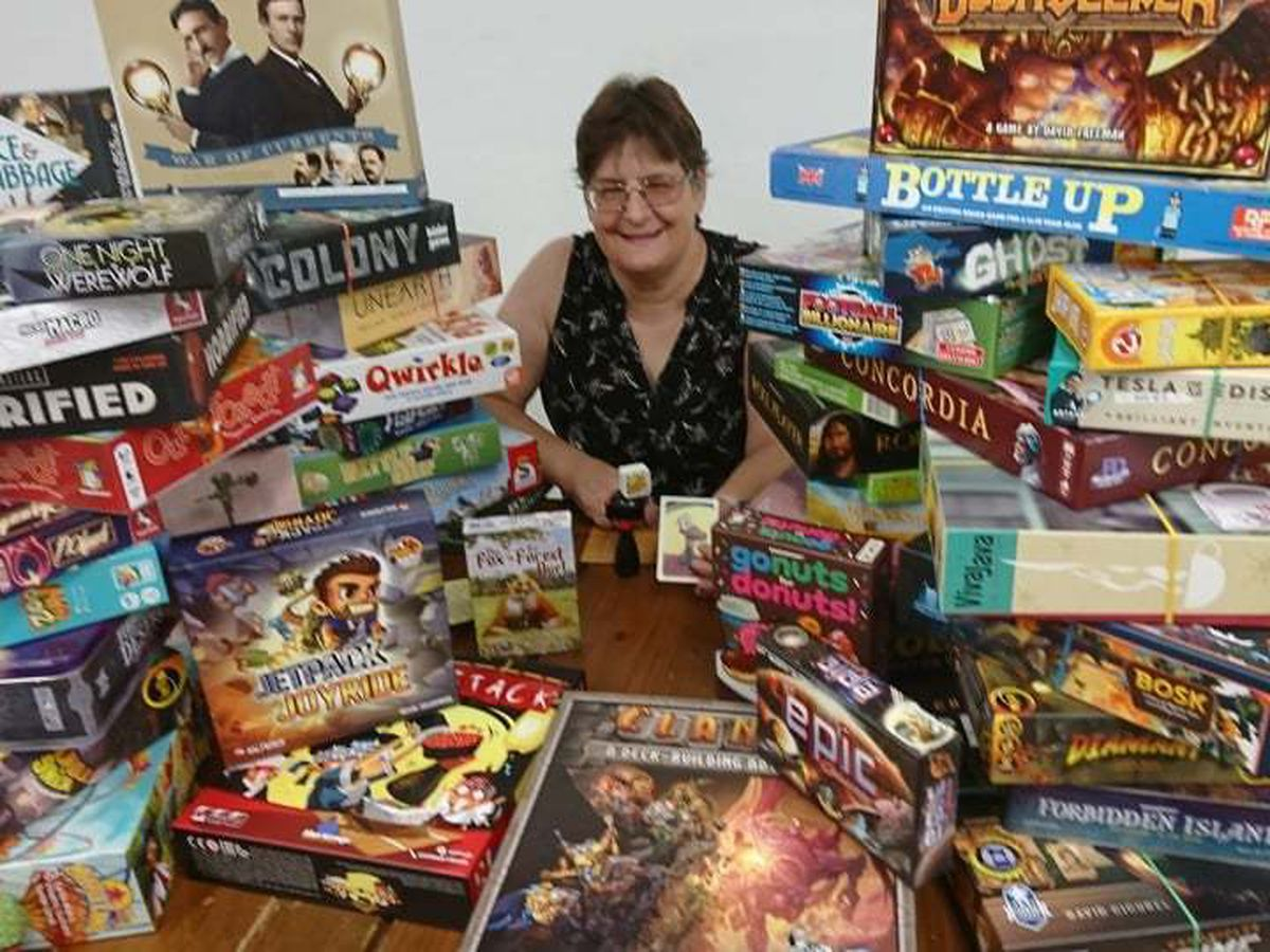 Maria Fisher and her range of board games