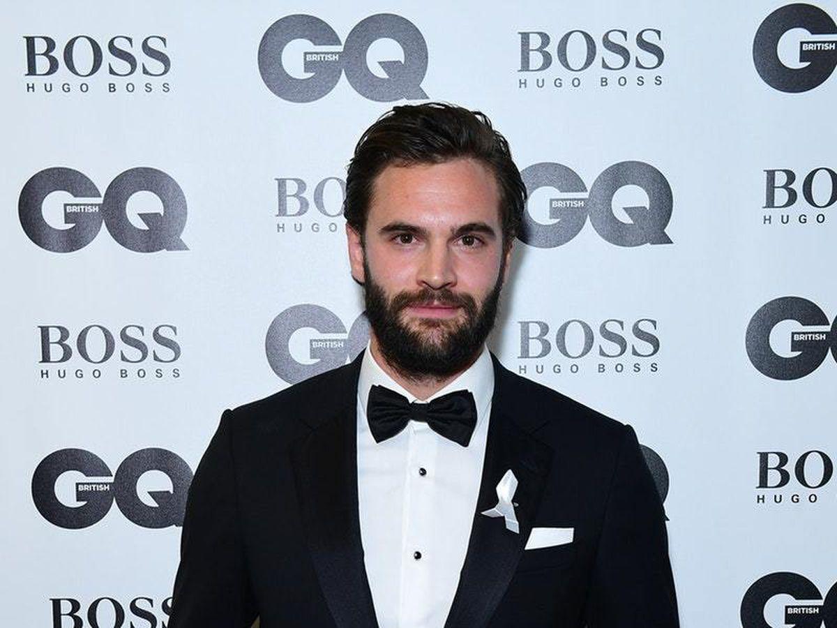 Tom Bateman at the GQ Awards