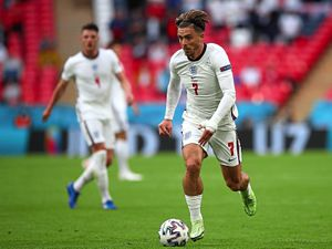 England's Jack Grealish during the UEFA Euro 2020 Group D match at Wembley Stadium, London. Picture date: Tuesday June 22, 2021. PA Photo. See PA story SOCCER England. Photo credit should read: Nick Potts/PA Wire. RESTRICTIONS: Use subject to restrictions. Editorial use only, no commercial use without prior consent from rights holder.