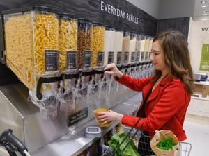 Supermarket chain Waitrose is trialling a packaging-free shopping scheme