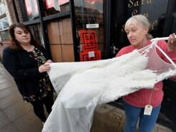 'We won't be beaten': Bridal store owner defiant after £13k theft
