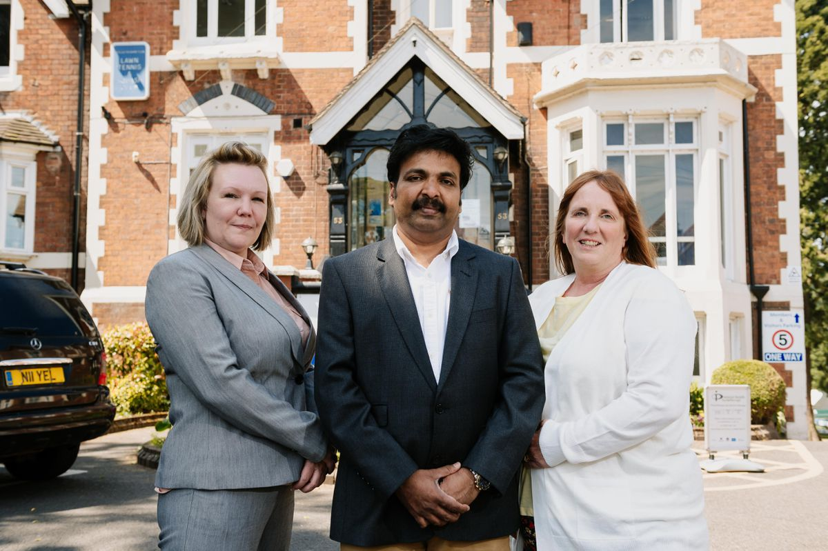 Christies Care has arrived in Wolverhampton. Left to right, Vanessa Firth (Deputy Manager), Dr Rejith Rag and Amanda Keeler (Register Manager)