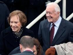 Former US president Jimmy Carter 'deathly afraid' over wife's illness